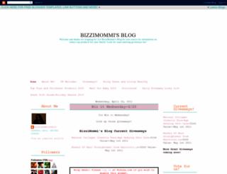 bizzimommi.blogspot.com screenshot