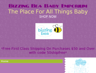 bizzingbea.com screenshot
