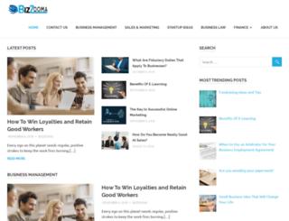 bizzooma.com.au screenshot