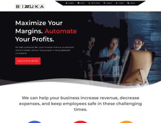 bizzuka.com screenshot