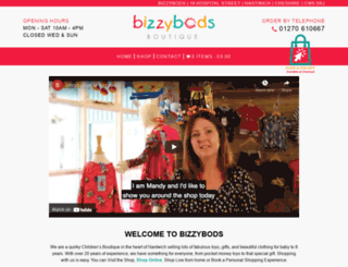 bizzybods.co.uk screenshot