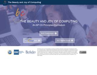 bjc.edc.org screenshot