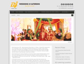 bjcatering.com screenshot