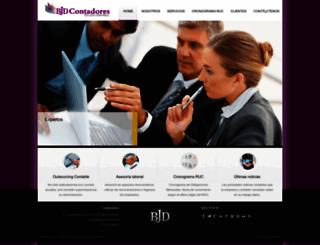 bjdcontadores.com screenshot