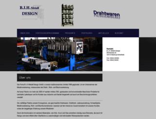 bjh-metall-design.de screenshot