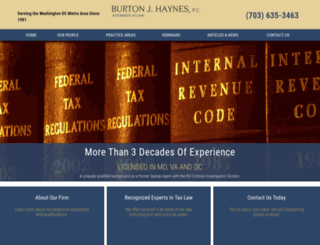 bjhaynes.com screenshot