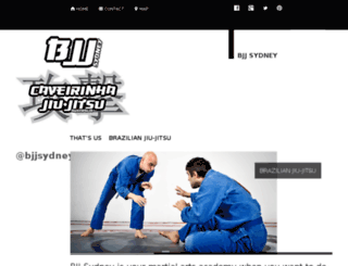 bjj-sydney.com screenshot
