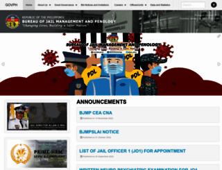 bjmp.gov.ph screenshot