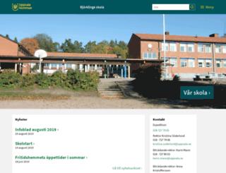 bjorklingekyrkskola.uppsala.se screenshot