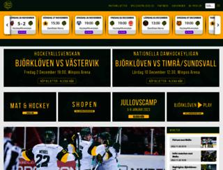bjorkloven.com screenshot
