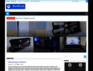 bjorn3d.com screenshot