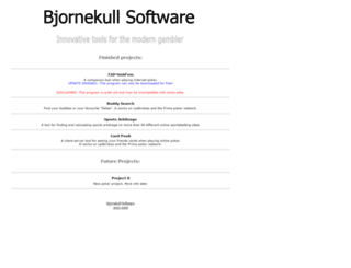 bjornekull.com screenshot