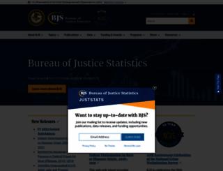 bjs.gov screenshot