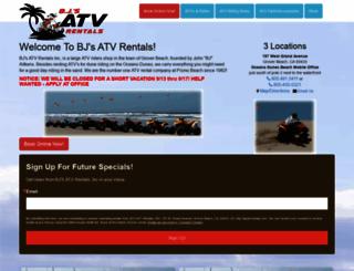 bjsatvrentals.com screenshot