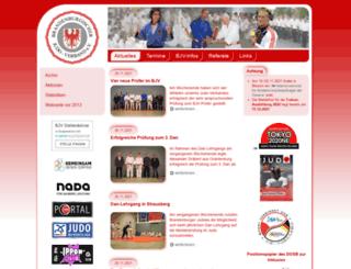 bjv-judo.de screenshot