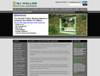 bjwaller.co.uk screenshot