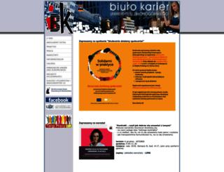 bk.uz.zgora.pl screenshot