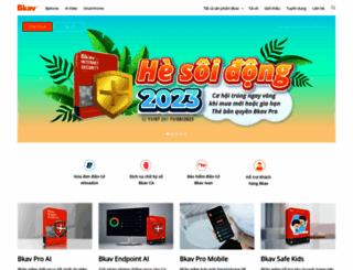 bkav.com.vn screenshot