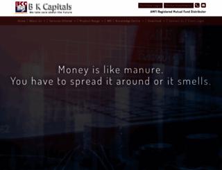 bkcapitals.com screenshot