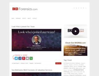 bkdforensics.com screenshot