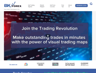 bkforexadvisors.com screenshot