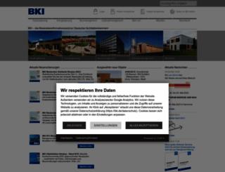 bki.de screenshot