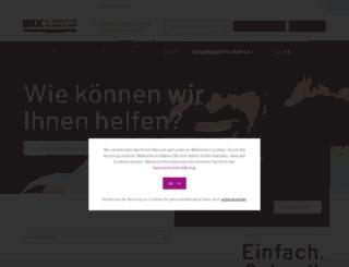 bkkgilsei.de screenshot