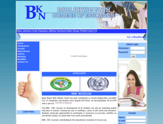bknedu.org screenshot