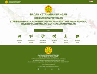 bkp.pertanian.go.id screenshot