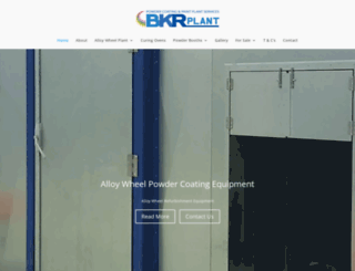 bkr-plant.co.uk screenshot
