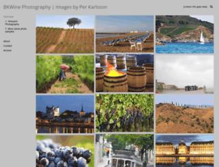 bkwinephotography.photoshelter.com screenshot