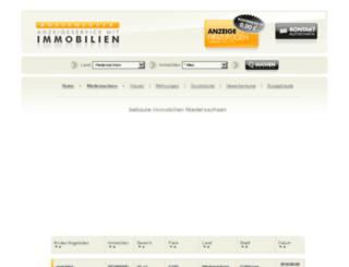 bl-niedersachsen.immobilboerse.de screenshot