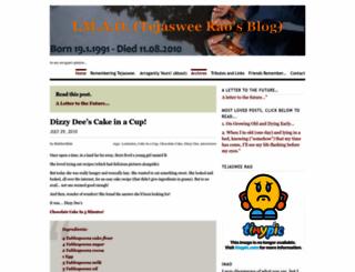 blabberblah.wordpress.com screenshot