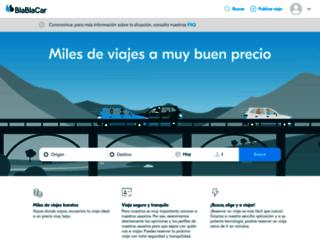 blablacar.mx screenshot