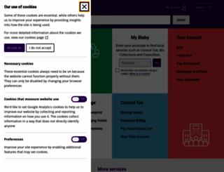 blaby.gov.uk screenshot