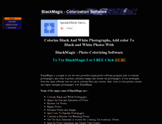 black-and-white-to-color.com screenshot