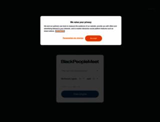 black-singles-meet.com screenshot