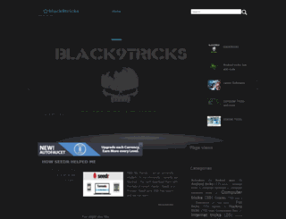 black9tricks.blogspot.com screenshot