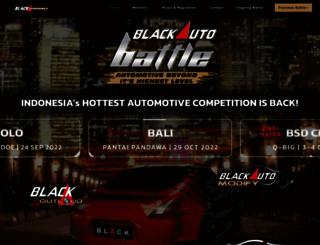 blackautobattle.blackxperience.com screenshot