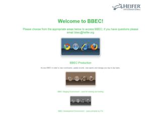 blackbaudcrm.heifer.org screenshot
