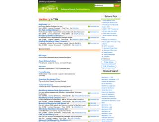 blackberry.brothersoft.com screenshot