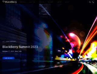 blackberry.com screenshot