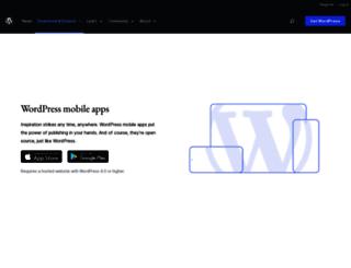 blackberry.forums.wordpress.org screenshot