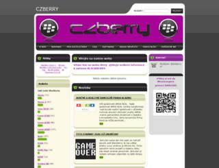 blackberry.webnode.cz screenshot
