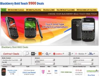 blackberryboldtouch9900deals.co.uk screenshot