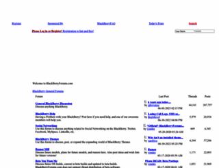 blackberryforums.com screenshot