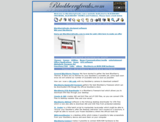 blackberryfreaks.com screenshot
