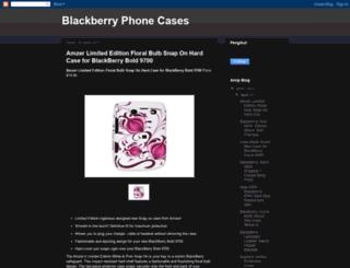 blackberryphonecases.blogspot.com screenshot
