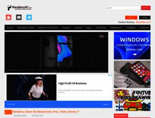 blackberryrc.com screenshot