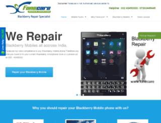 blackberryrepairing.com screenshot